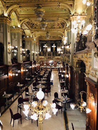 The most beautiful cafe in the world...