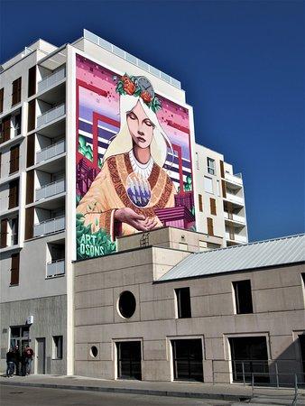 Cergy, Frankrike: La fresque