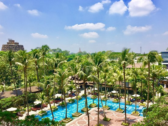 Great hotel centrally located in Yangon