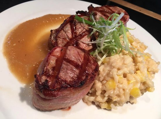 Federal Tavern: Daily Feature Bacon Wrapped Pork Tenderloin
