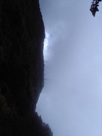 Hiking cerro de la muerte