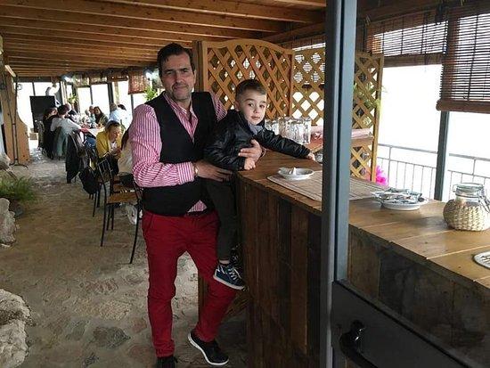 Sant'Angelo a Fasanella, Italy: Uno degli angolo bar del ristorante