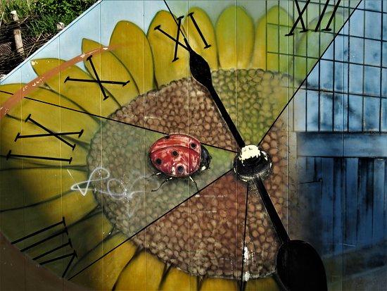 """Fresque """"L'horloge"""""""
