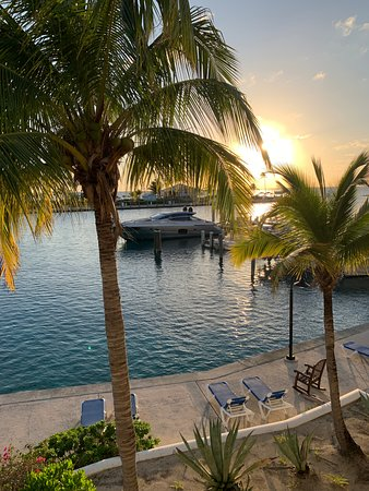 Cape Eleuthera Resort & Marina: View from the second floor of our villa.