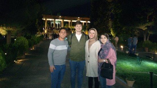 Fars Province, Iran: Shiraz Tomb of Hafez