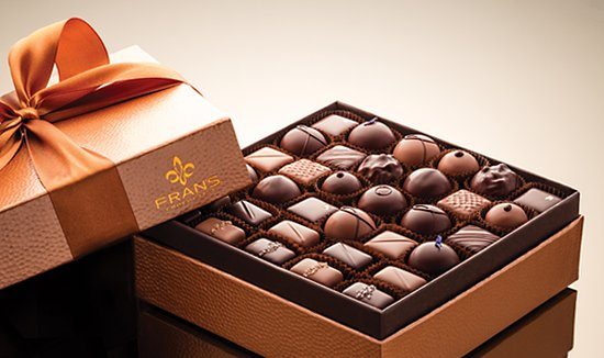 Fran's Ultimate Indulgence box with Truffles & Caramels
