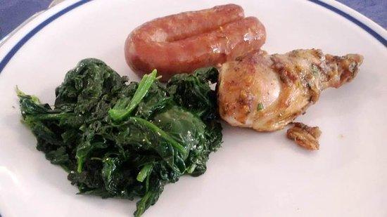 Volpiano, Olaszország: シンプルな料理