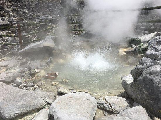 Domas Crater in Lembang area
