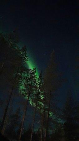 Fortunate to observe the Aurora Borealis.