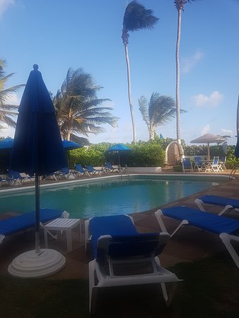 pool area at Dover Beach Hotel