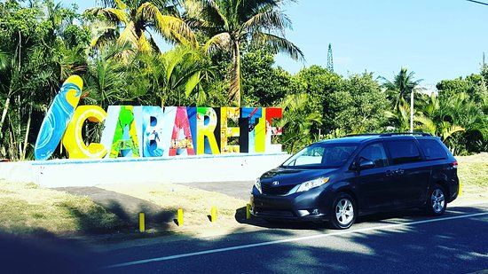 Cabarete, Dominican Republic: Have you been by to see our new sign. As creative and unique as our slice of paradise. Let us show you around. Give us a call at Joel Rivera Taxi 809-789-8165