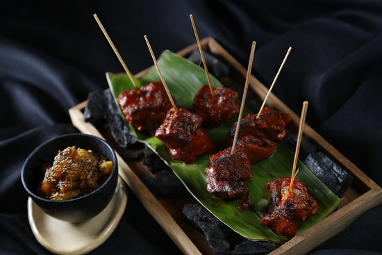 Grilled southern Thai-style marinated golae