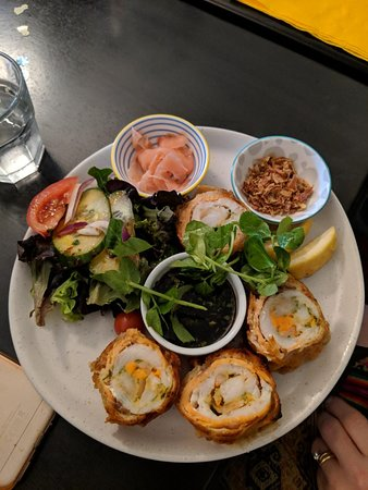 Jimboomba, Αυστραλία: Asian Seafood Salad