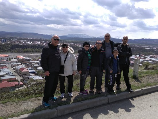With Guests in Quba Trip. Quba is one of the largest cities in Azerbaijan, located on picturesque hillsides 170 km (105 miles) to the north of Baku.