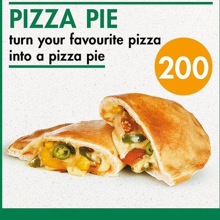 Turn your favorite pizza into a piePizza pie