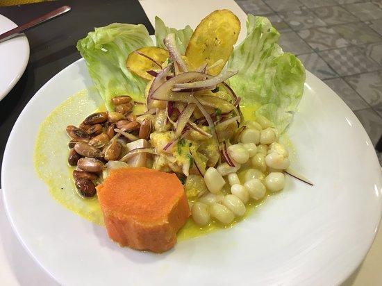 Pata Salada: ceviche