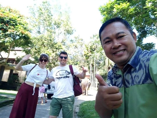 With dear Nyoman during out tour in Bali.