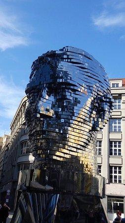 Statue of Franz Kafka 사진