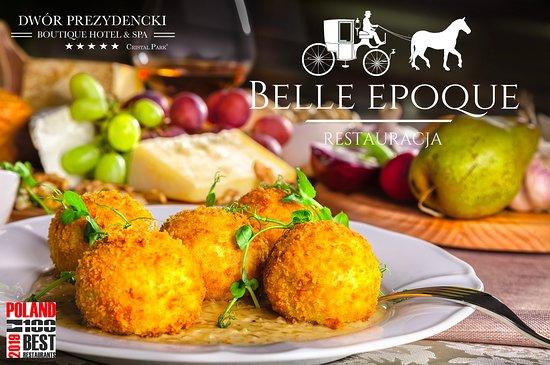 Belle Epoque Restaurant: Chrupiące knedle z cielęciną serwowane na sosie cebulowym