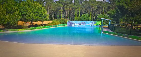 Océan play, la piscine à vagues du parc Aquatic Landes
