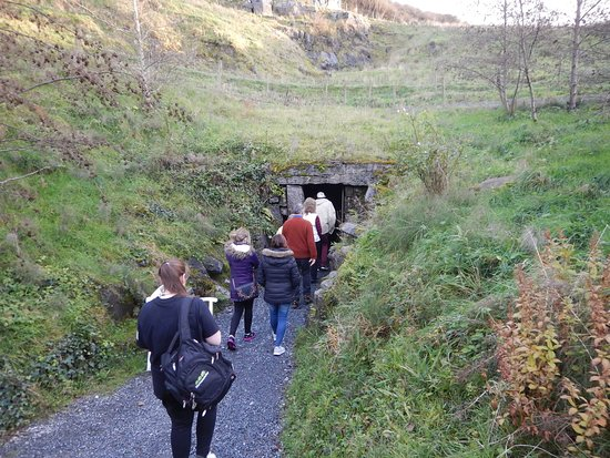 Doolin Cave: The entrance to the cave. The fields above it have some pet donkeys you can go meet later.