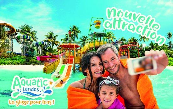 Labenne, ฝรั่งเศส: Aquatic Landes, vous propose en exclusivité une nouvelle attraction pour la saison 2019, Kids landes aventures. Une zone de 700m² dédié aux enfants.