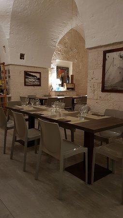 Sala da pranzo, interno