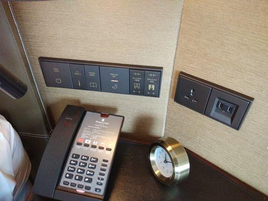 Renovated room with New Electrical Switches and USB Charging points