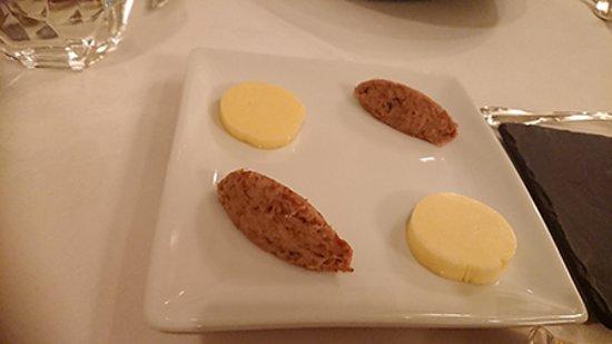 リエットとバター(バターはいぶしてありました)
