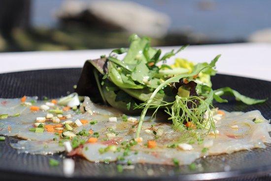La Table du Goeland - Casa Santini: Ceviche de dorade