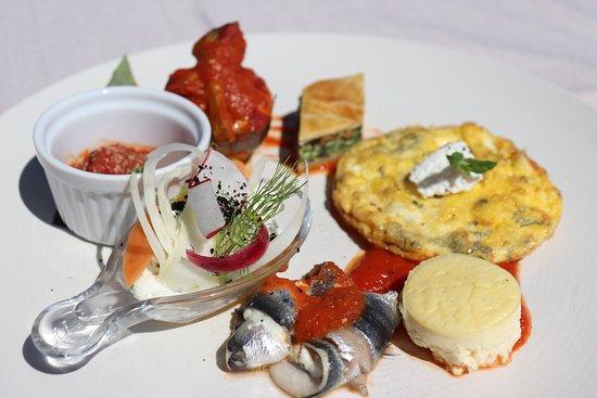 La Table du Goeland - Casa Santini: Assiette de dégustation de produits insulaires : autour du Brocciu