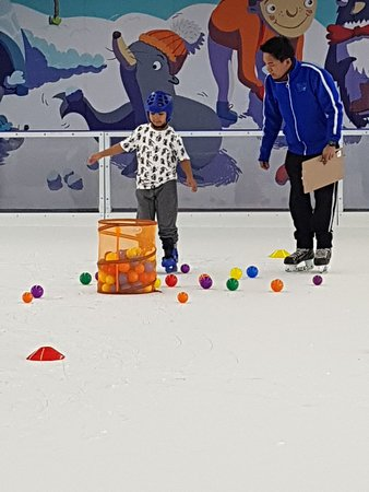 Skating Lessons with Games