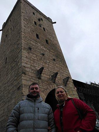 Остатки крепостной стены в Йене