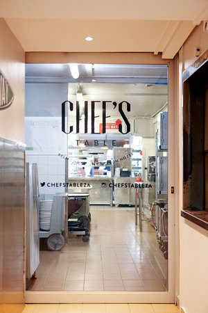 Chef's Table entrance