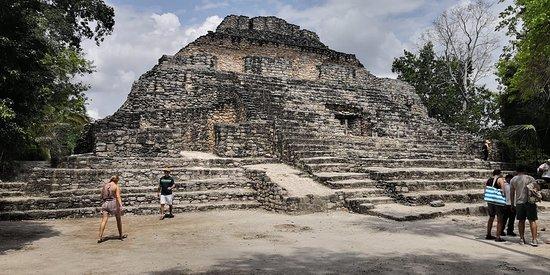 Zona Arqueologica De Chaachoben: altra piramide