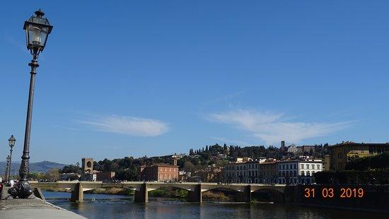 Firenze. Lungarno Anna Maria Luisa de' Medici (Marzo 2019)