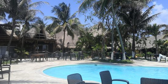Paamul, Meksyk: piscina del beach club