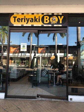 Teriyaki Boy signage