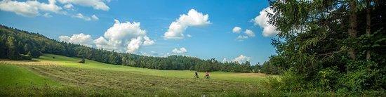 Cycling around Bloke