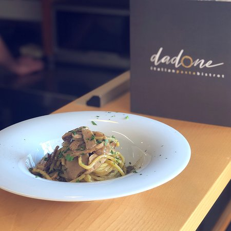 Dadone - Italian Pasta Bistrot: Spaghetti ai funghi