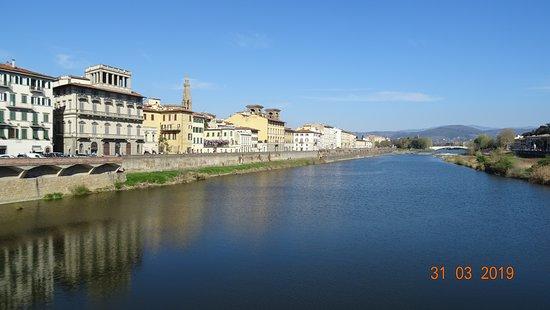 Firenze. Ponte alle Grazie (Marzo 2019)
