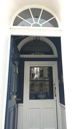 The Kennard: Secure double front door.