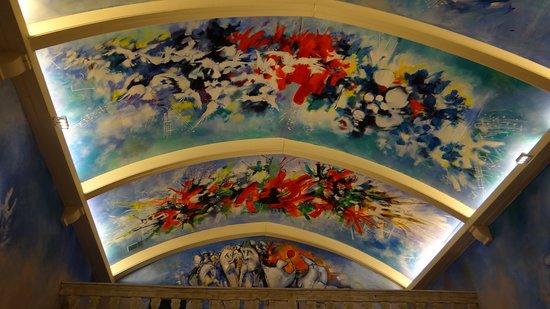 Eglise du Carla: intérieur