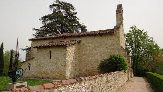Eglise du Carla: extérieur