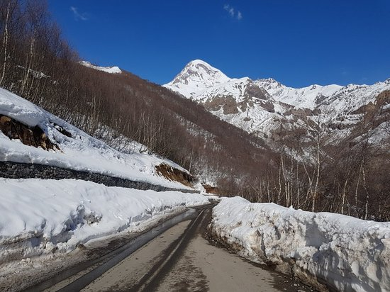 Feel and brith the fresh air of the Caucasus Mountains!