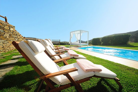 We very much enjoyed their fabulous private pool!
