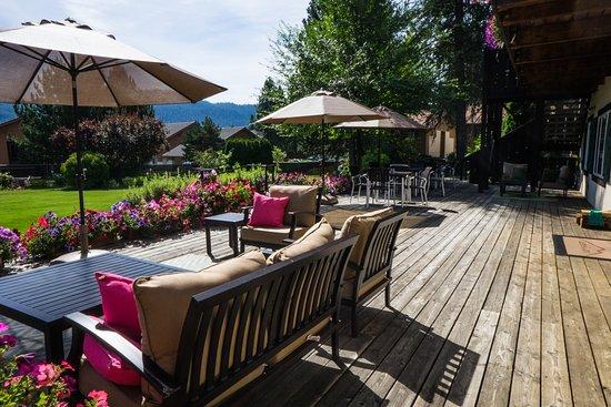 Entrance - Picture of Blue Elk Inn, Leavenworth - Tripadvisor