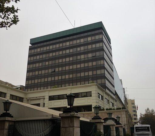 Edifício do hotel