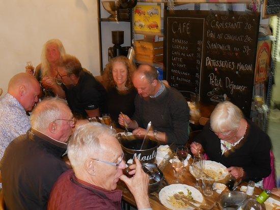 Moules Frites @ Cafe Nice Bar Bistro Cafe