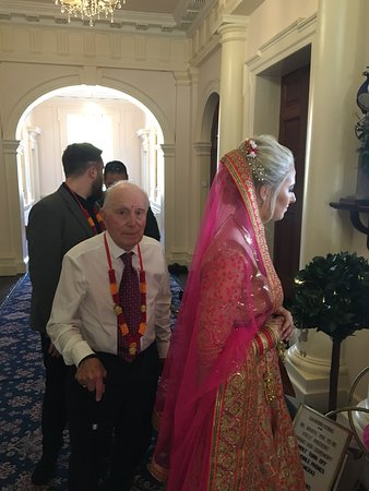 Indian Wedding Ceremony at Nanteos Mansion -Easter Wedding 2019